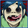 2-D of the Gorillaz