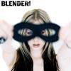 Avril Holding a Mask