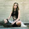 Avril Sitting Outside