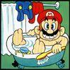 Bath Mario
