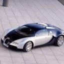 Bugatti Silver Black