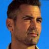 George Clooney On Blue