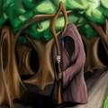 Painted druid