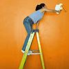 Painting a room Orange